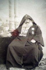 Le catholicos Mgrditch Khrimian, 1820-1907, représentant des Arméniens au congrès de Berlin (coll.Bibliothèque Nubar)