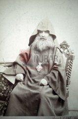 Sahag Khabayan, 1848-1939, catholicos de la Grande Maison de Cilicie à l'époque des massacres d'Adana (coll.Bibliothèque Nubar)