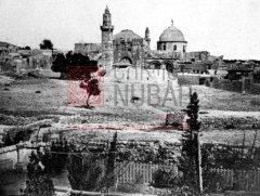 Le monastère des Saints-Jacques, siège du Patriarcat arménien de Jérusalem, qui a accueilli de nombreux orphelins dans les années 1920 (coll.Bibliothèque Nubar).